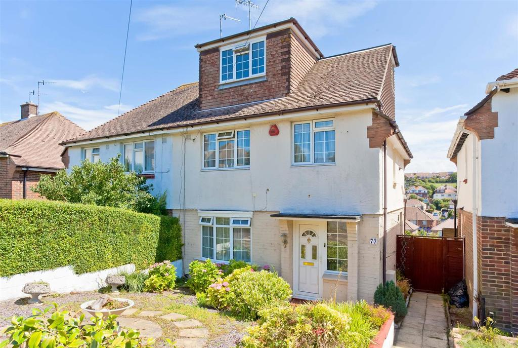 4 Bedrooms Semi Detached House for sale in Drove Crescent, Portslade, Brighton