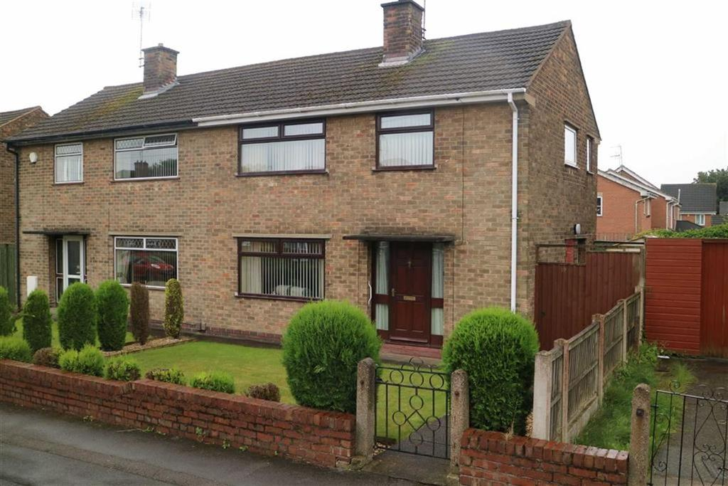 3 Bedrooms Semi Detached House for sale in Lawrence Avenue, Kirkby In Ashfield, Notts, NG17