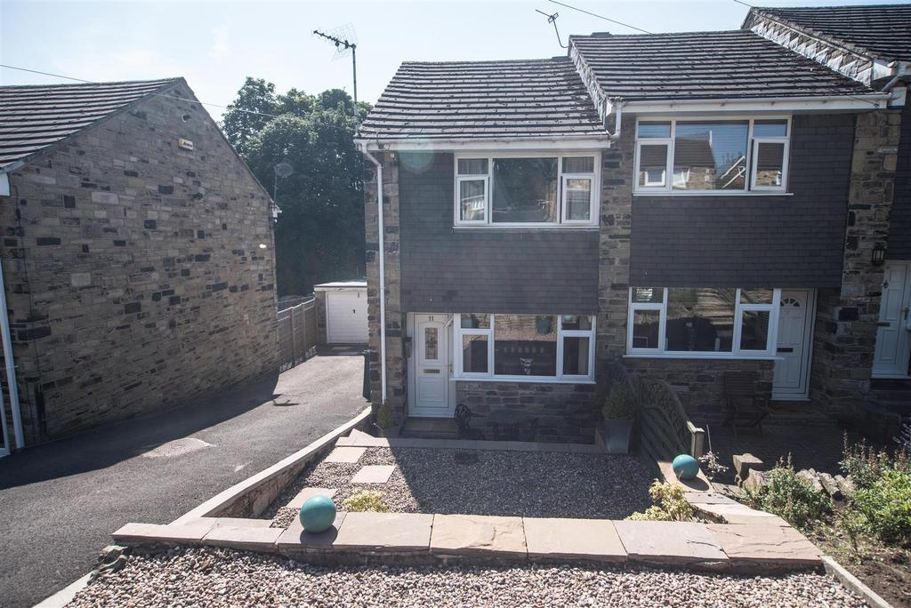 2 Bedrooms End Of Terrace House for sale in Woodlands Close, Denby Dale, Huddersfield, HD8 8RH