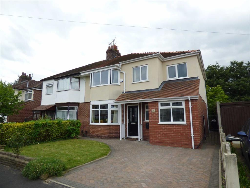 4 Bedrooms Semi Detached House for sale in Crossefield Road, Cheadle Hulme, Cheshire