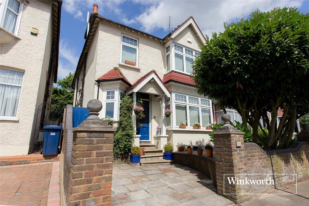 5 Bedrooms Semi Detached House for sale in Normandy Avenue, High Barnet, Herts, EN5