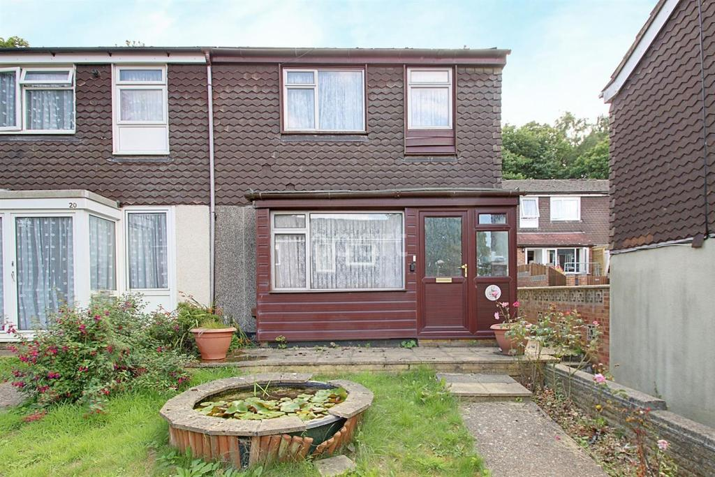 3 Bedrooms End Of Terrace House for sale in Lords Wood Close, Lords Wood, Chatham