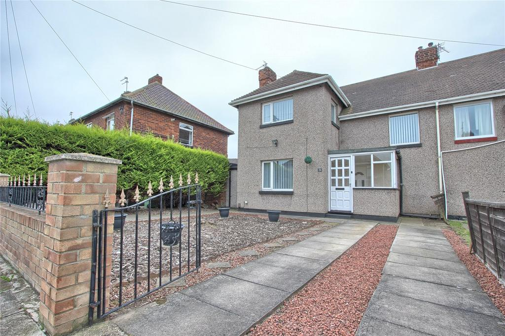 3 Bedrooms Semi Detached House for sale in Sandsend Road, Redcar