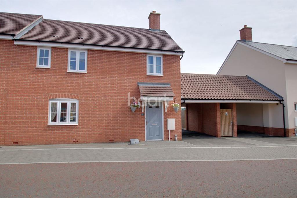 3 Bedrooms Semi Detached House for sale in Wall Mews, Colchester.