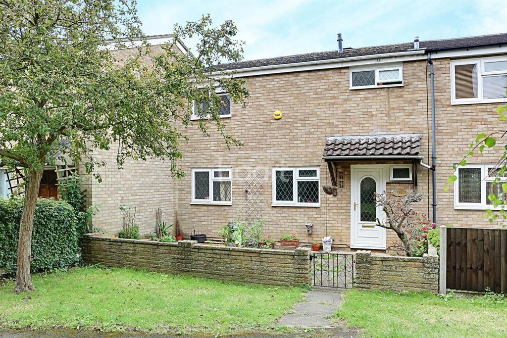 3 Bedrooms Terraced House for sale in York Road, St Nicholas, Stevenage