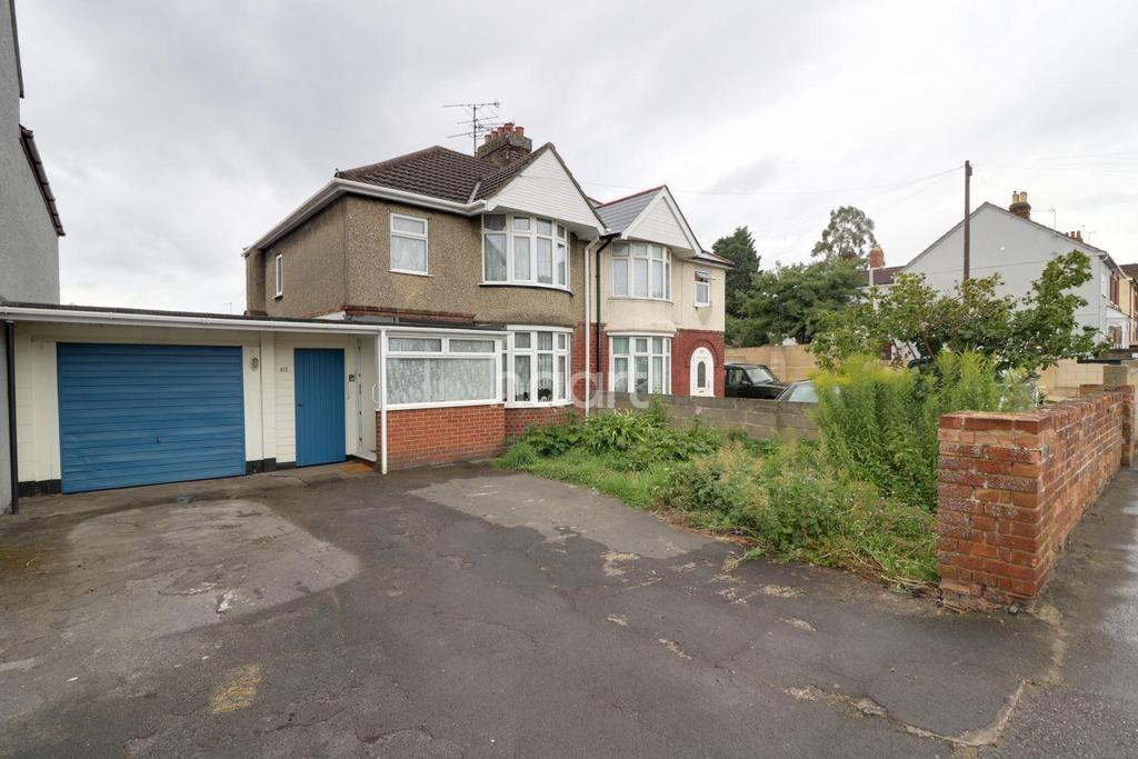 3 Bedrooms Semi Detached House for sale in Cricklade Road, Swindon, Wiltshire