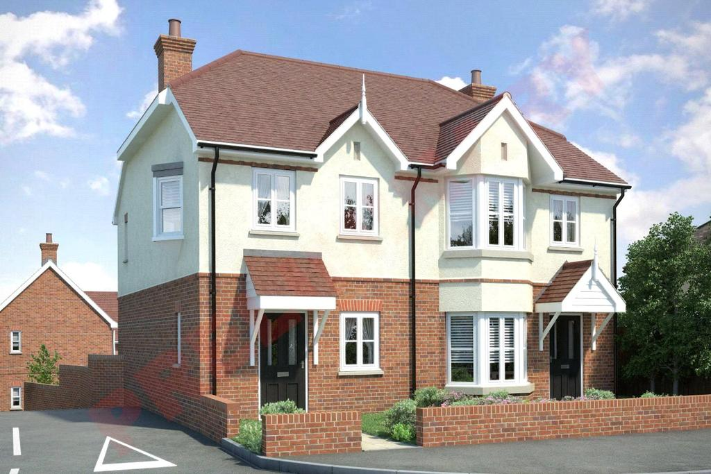 3 Bedrooms Semi Detached House for sale in Burntwood Gardens, Westwood Avenue, Brentwood, Essex, CM14