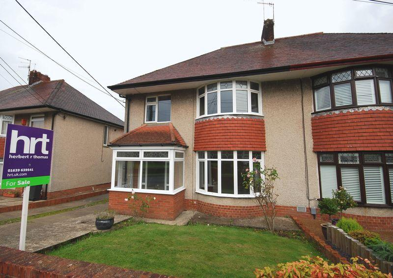 3 Bedrooms Semi Detached House for sale in 34 Tyn Yr Heol Road, Bryncoch, Neath, SA10 7EA