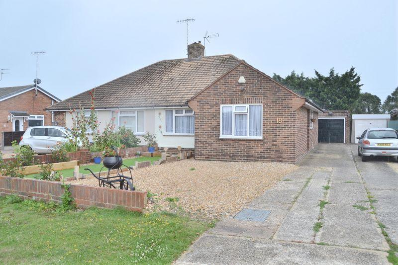 2 Bedrooms Semi Detached Bungalow for sale in Ferring