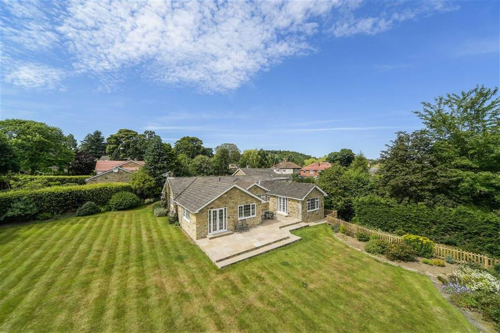 4 Bedrooms Detached Bungalow for sale in Woodcock Close, Harrogate, North Yorkshire
