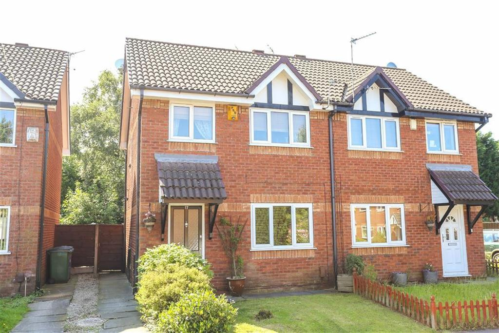 3 Bedrooms Semi Detached House for sale in Lower Moat Close, Heaton Norris