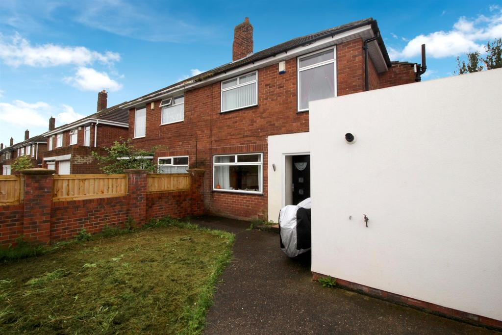 4 Bedrooms Semi Detached House for sale in Debdon Gardens, Newcastle Upon Tyne