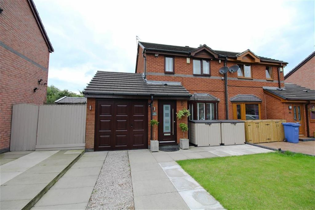 3 Bedrooms Semi Detached House for sale in Selbourne Close, Reddish, Stockport