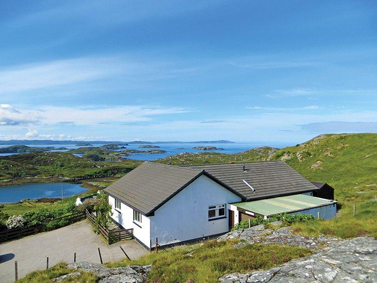 4 Bedrooms Detached Bungalow for sale in Badcall, Scourie, Lairg, Sutherland