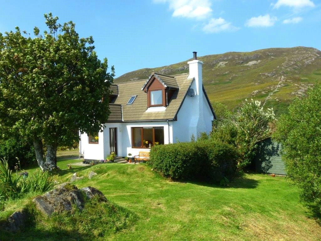 3 Bedrooms Detached House for sale in Tom A'chrochair, Kilchoan, Acharacle, Highland, PH36