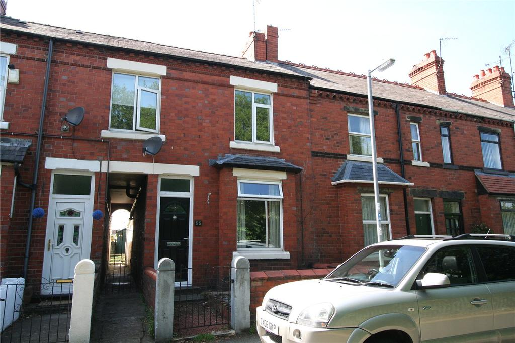 2 Bedrooms Terraced House for sale in Crispin Lane, Wrexham, LL11
