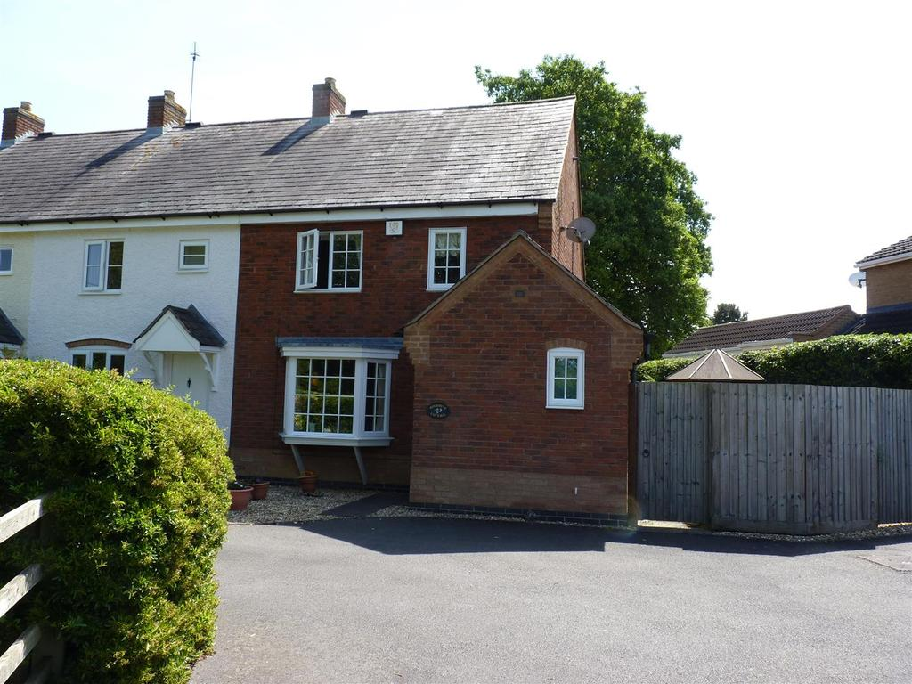 3 Bedrooms Town House for sale in Garfield Park, Great Glen, Leicester