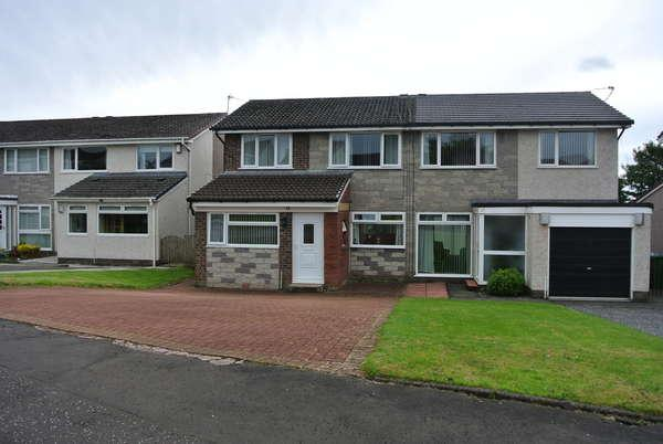 3 Bedrooms Semi-detached Villa House for sale in 15 Orchard Gardens, Strathaven, ML10 6UN