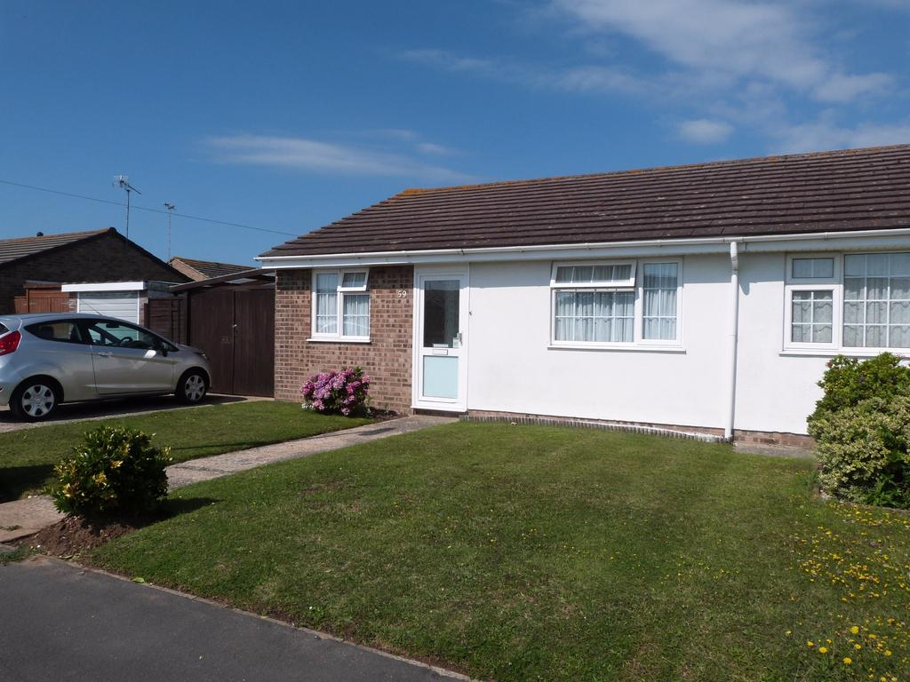 2 Bedrooms Semi Detached Bungalow for sale in Merryfield Drive, Selsey