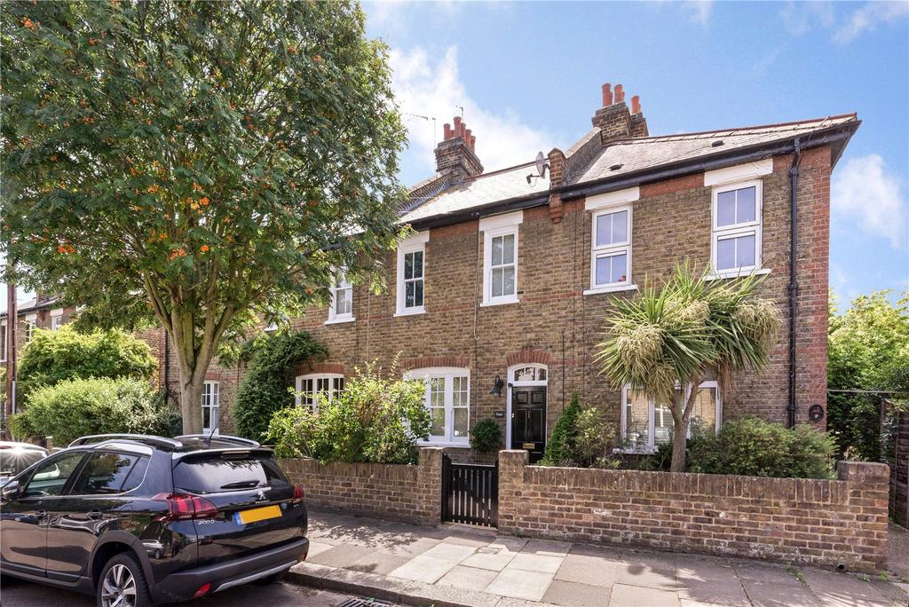 3 Bedrooms Terraced House for sale in Limes Avenue, Barnes, London, SW13