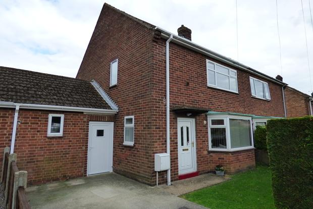2 Bedrooms Semi Detached House for sale in Freer Gardens, Louth, LN11