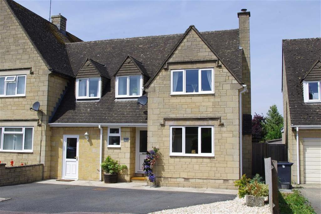 3 Bedrooms Semi Detached House for sale in Roman Way, Bourton On The Water, Gloucestershire