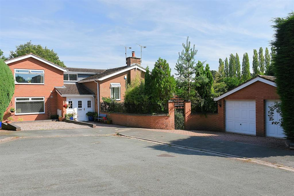 5 Bedrooms Detached House for sale in Park Crescent, Sandiway
