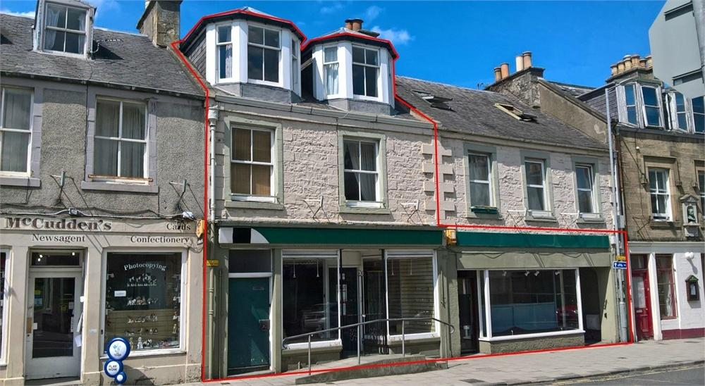 3 Bedrooms Maisonette Flat for sale in SELF-CONTAINED MAISONETTE, 41 High Street, Selkirk, Selkirkshire, Scottish Borders