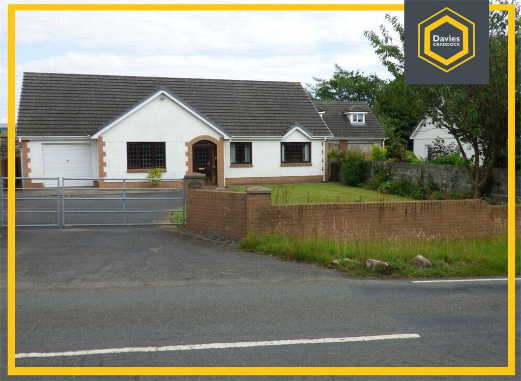 3 Bedrooms Detached Bungalow for sale in Ty Fonmon, Four Roads, Kidwelly, Carmarthenshire