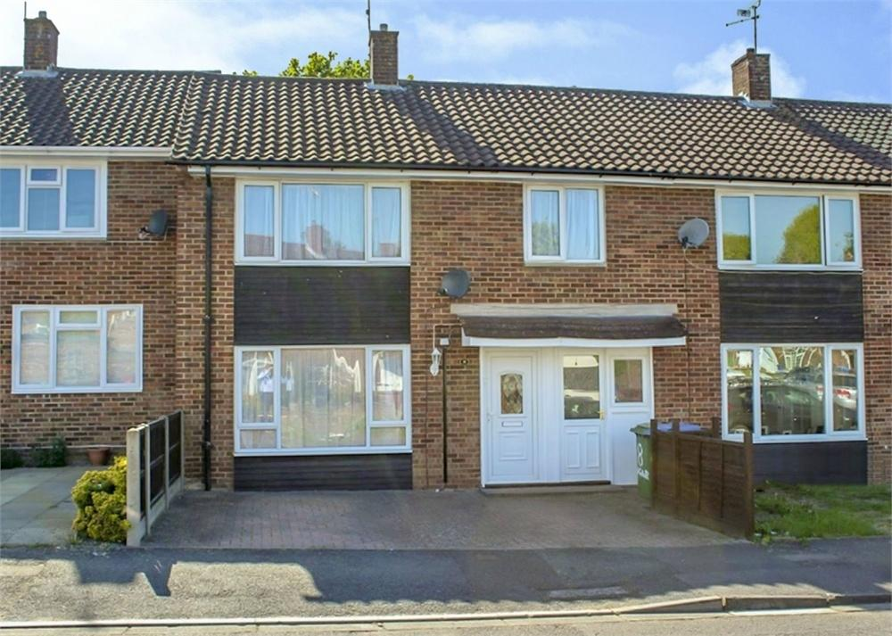 3 Bedrooms Terraced House for sale in Agar Crescent, Priestwood, Bracknell, Berkshire