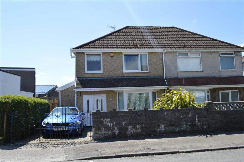 3 Bedrooms Semi Detached House for sale in Graigllwyd Road, Swansea, SA2