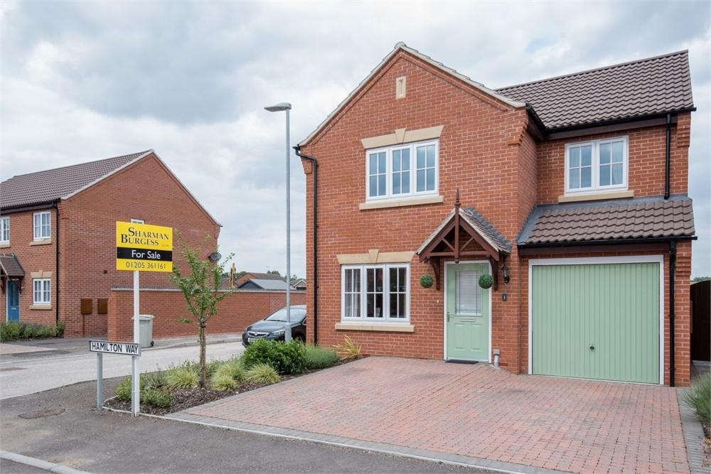 3 Bedrooms Detached House for sale in Hamilton Way, Coningsby, Lincoln, Lincolnshire