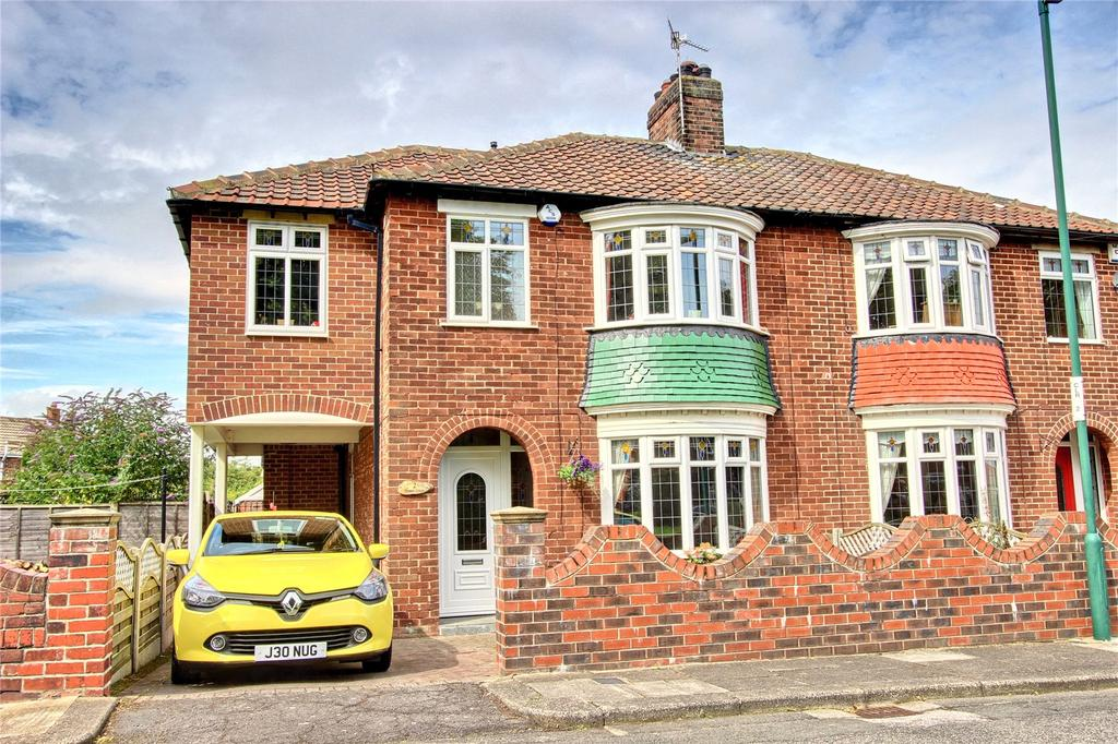 4 Bedrooms Semi Detached House for sale in Manor Green, Normanby
