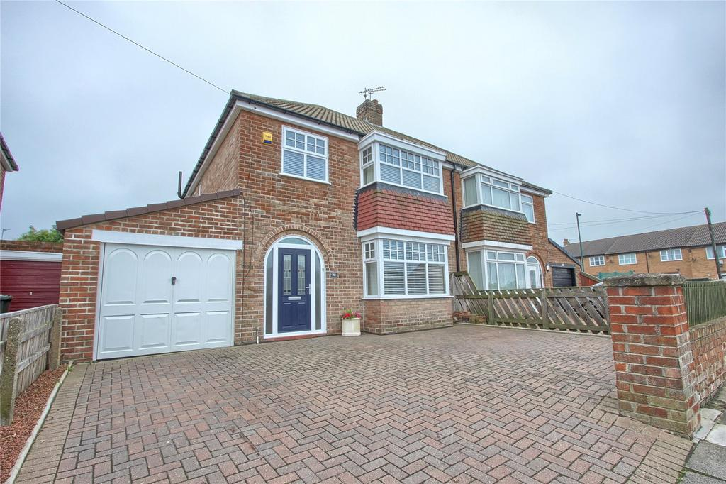 3 Bedrooms Semi Detached House for sale in Windy Hill Lane, Marske-by-the-Sea