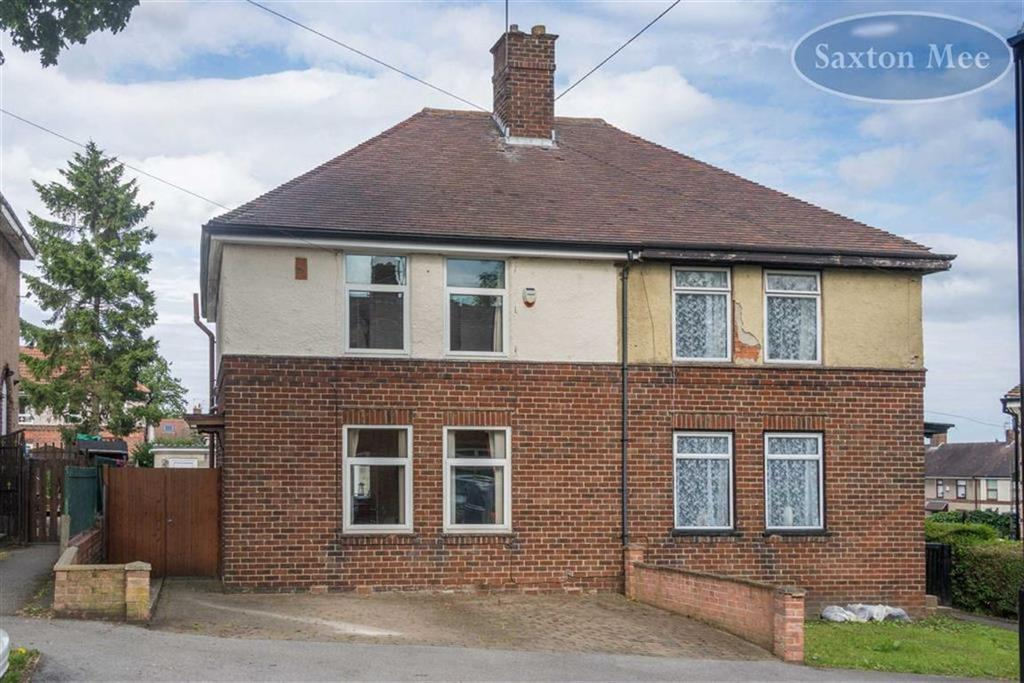 2 Bedrooms Semi Detached House for sale in Studfield Road, Wisewood, Sheffield, S6
