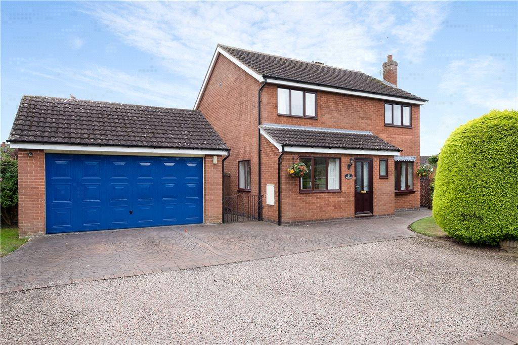 4 Bedrooms Detached House for sale in Fishmore View, Ludlow, Shropshire, SY8