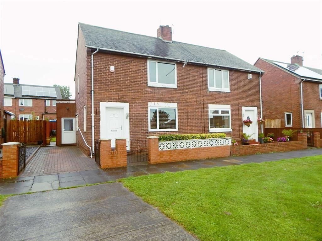 2 Bedrooms Semi Detached House for sale in Brampton Gardens, Howdon, Wallsend, NE28