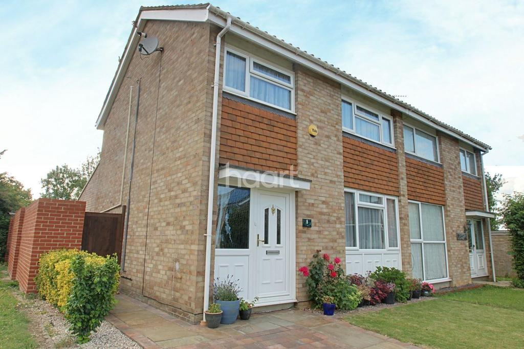 3 Bedrooms Semi Detached House for sale in Eden Close, Witham, CM8