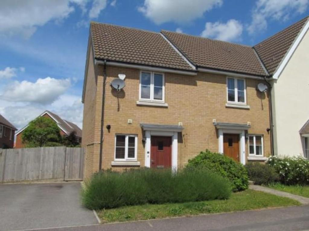 2 Bedrooms End Of Terrace House for sale in Harrier Way, Stowmarket