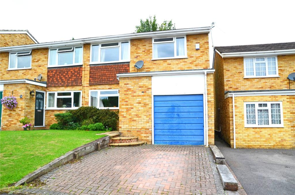 4 Bedrooms Semi Detached House for sale in Newbery Close, Tilehurst, Reading, Berkshire, RG31
