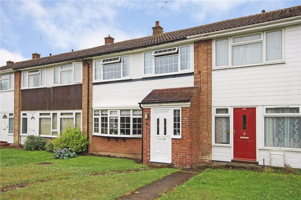 3 Bedrooms Terraced House for sale in The Chilterns, Kensworth, Dunstable, Bedfordshire