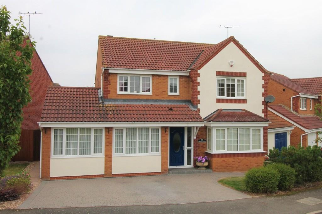 4 Bedrooms Detached House for sale in Long Brimley Close, Market Harborough