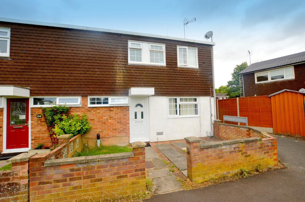 3 Bedrooms End Of Terrace House for sale in Chelsea Gardens, Houghton Regis, Bedfordshire, LU5 5RN