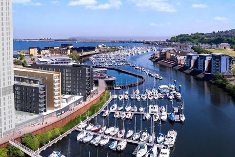 2 bedroom flat for sale - Bayscape, Cardiff Marina, Watkiss Way, CF11