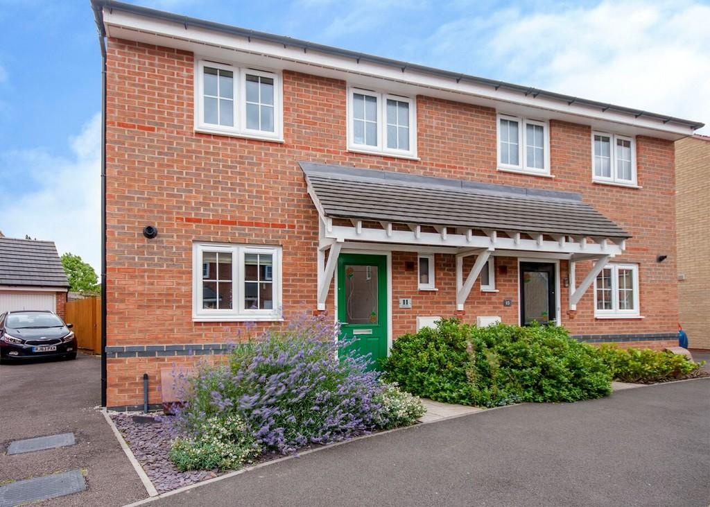 3 Bedrooms Semi Detached House for sale in Perkins Way, Chilwell