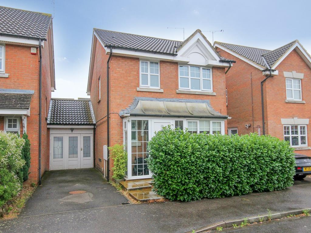3 Bedrooms Link Detached House for sale in Randall Drive, Toddington, LU5