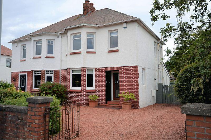 3 Bedrooms Semi-detached Villa House for sale in 77 Adamton Road North , Prestwick KA9 2EU