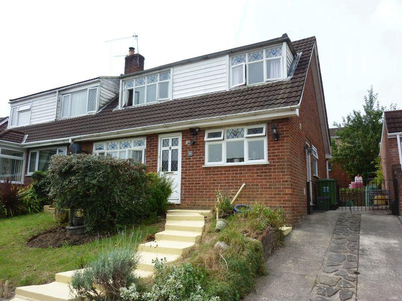 2 Bedrooms Semi Detached House for sale in Greenlands Road, Llantrisant CF72 8QD