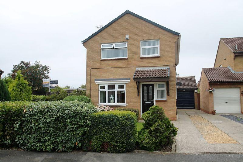 4 Bedrooms Detached House for sale in Kilnwick Close, Billingham