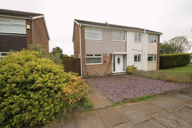 3 Bedrooms Semi Detached House for sale in Wolsingham Drive, Thornaby